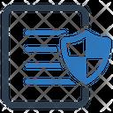 Document protection Icon