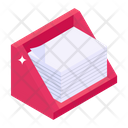 File Rack Document Rack Document Holder Icon