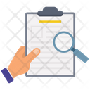 Document Review File Search File Review Icon