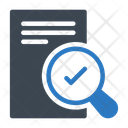 Search Document File Icon