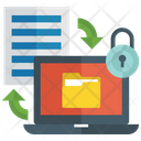 Document Security Confidential Document Information Security Icon