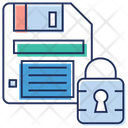 Passcode Protection Padlock Icon