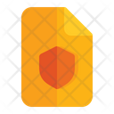 Security Document File Icon