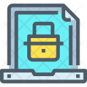Document Security Secure Icon