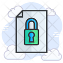 Document Security Protection Document Icon