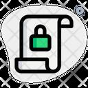 Document Security Icon