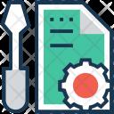 Preferences Screwdriver Files Icon