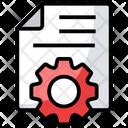 Document Setting Icon