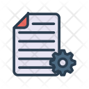 Document Page Setting Icon