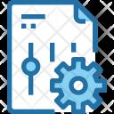 Document Setting Report Icon