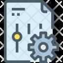 Document Setting Management Icon