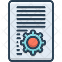 Document Setting Icon