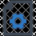 Document File Setting Icon
