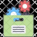 Document Setting Document Configuration Document Management Icon