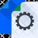 Document Setting File Configuration File Setting Icon