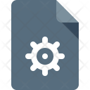 Document Settings Gear Icon