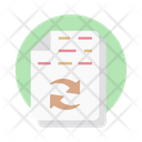 Data Share File Share Document Sharing Icon