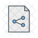 Document Sharing Icon