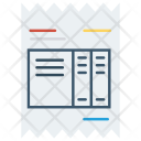 Document Sheet Invoice Icon