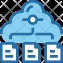 Cloud Storage Document Icon