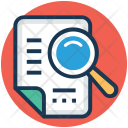 Document Tracking Data Icon