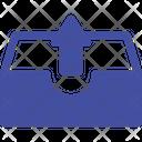 Arrow Document Upload Storage Icon