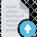 Document Upload Up Icon