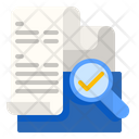 Verification Check Finance Icon