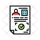 Document Verify Approval Approve Icon