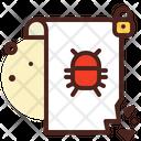 Document Virus Filebug File Bug Icon