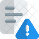 Document Warning Icon