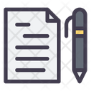 Document Writing Document Edit Icon