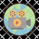 Documentary Filmmaking Cinematography Icon