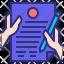 Documentation Document Paper Icon