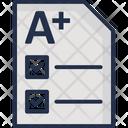 Documentation Paperwork Signature Icon