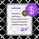 Documentation Fee Documentation Fees Documentation Icon