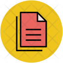 Documents Sheets Text Icon