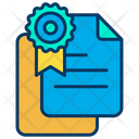 Documents Certificate Award Icon