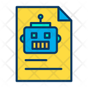 Documents Robot Scientific Document Icon