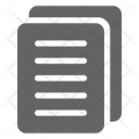 Documents Files Paper Icon