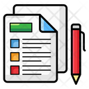 Documents Files Papers Icon