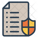 Documents Files Security Icon