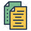 Documents Records Information Icon