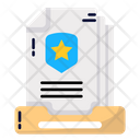 Documents Document Police Icon