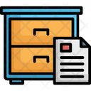 Documents File Drawer File Folders Icon