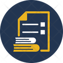 Documents File Knowledge Test Icon