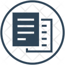 Documents Papers Files Icon