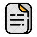 Business Document Copy Icon