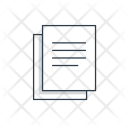 Documents Notes Paper Icon
