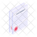 Files Official Document Papers Icon